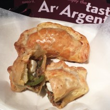 Beef, Egg, and Jalapeno Empanada
