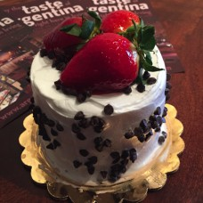 Tres Leches Chocolate Chip Topping Mini Cake